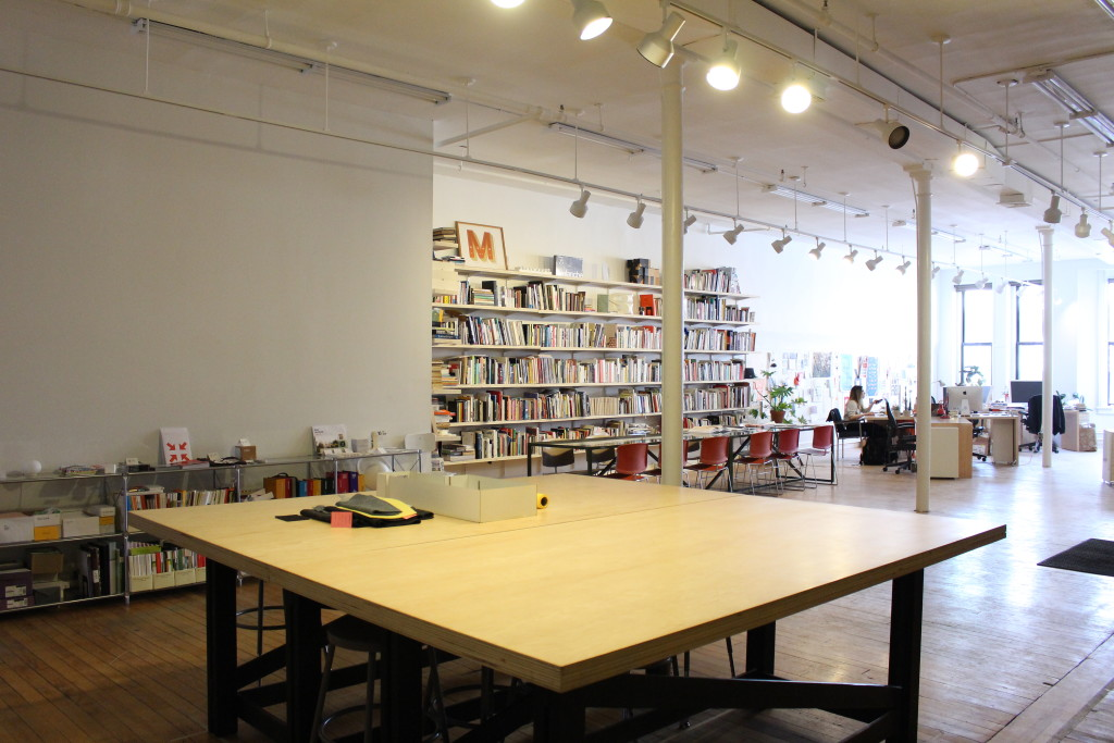 The Big Table Provides An Communal Area For Meetings, Events, And  Production Work.
