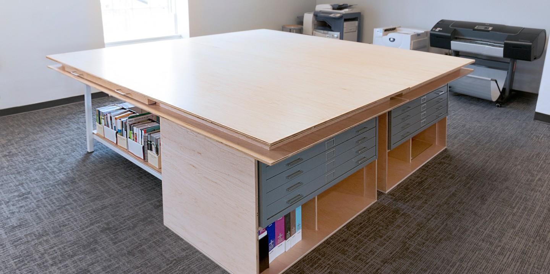 Risd Media Production Tables Work Shop Design Studio