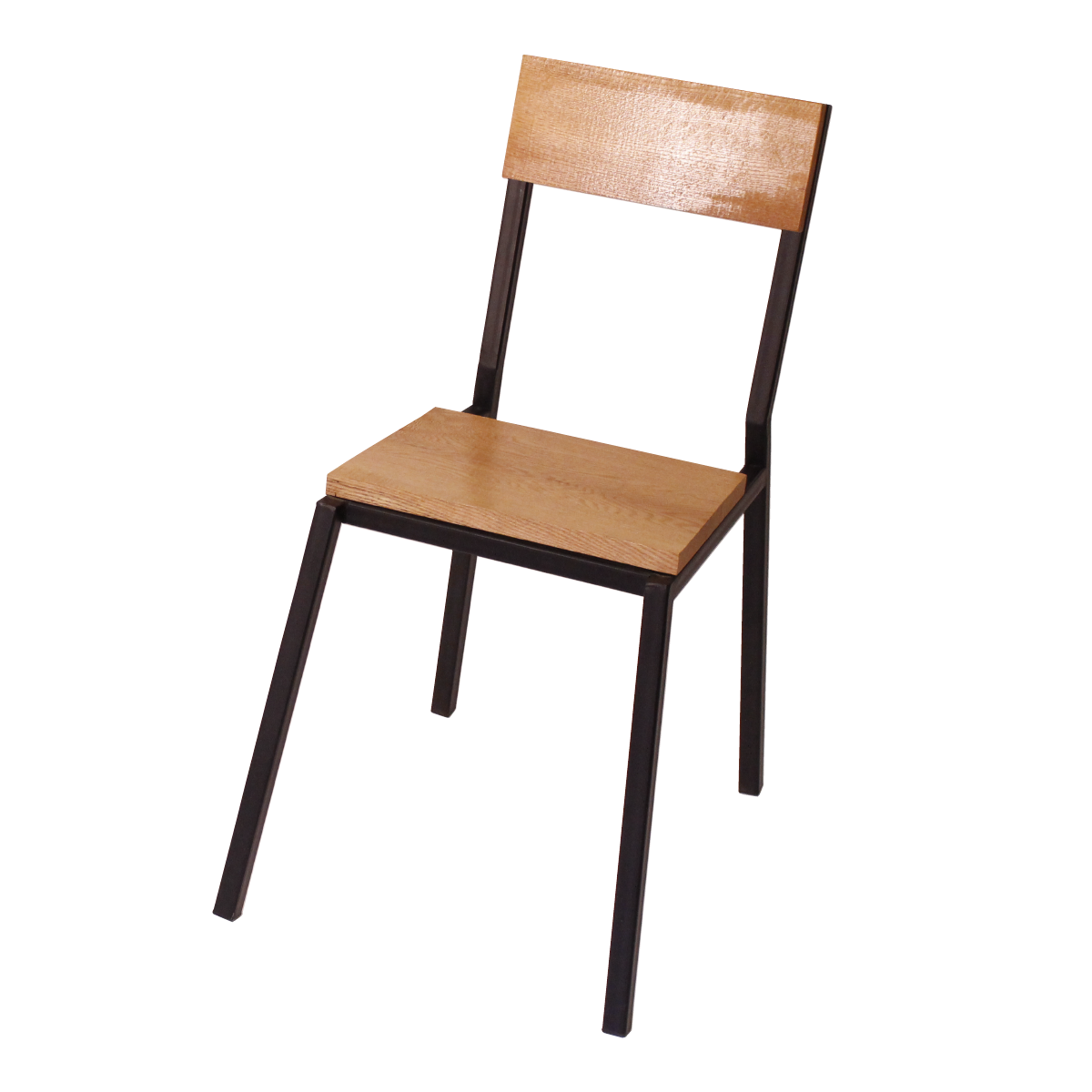 chair-3-quarter-oak-and-steel